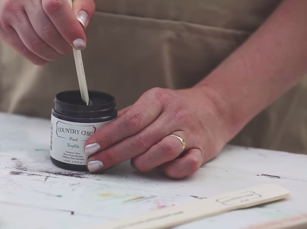 How To Glaze Your Painted Furniture For An Antique Look