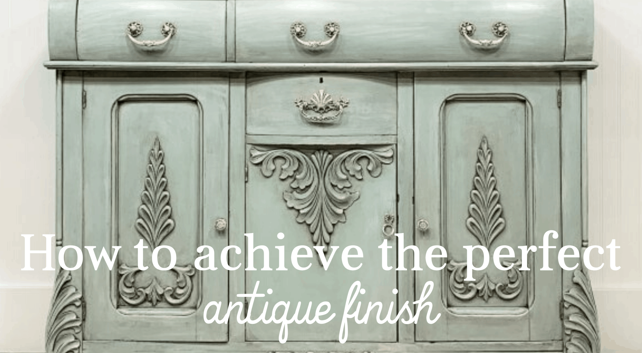 how to achieve the perfect antique finish on furniture - furniture wax vs glaze comparison for diy furniture painting makeovers