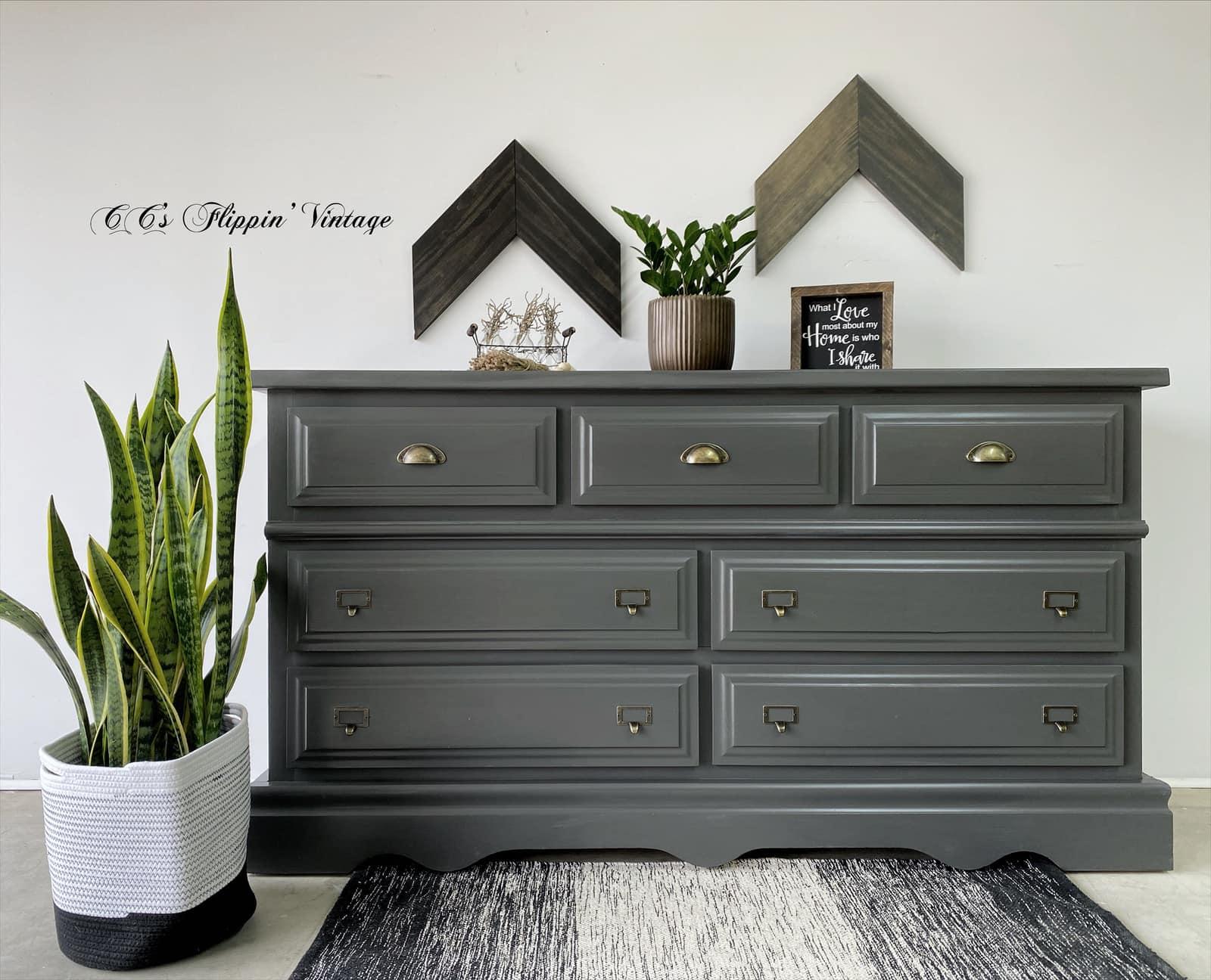 Seven-Drawer Dresser in Rocky Mountain