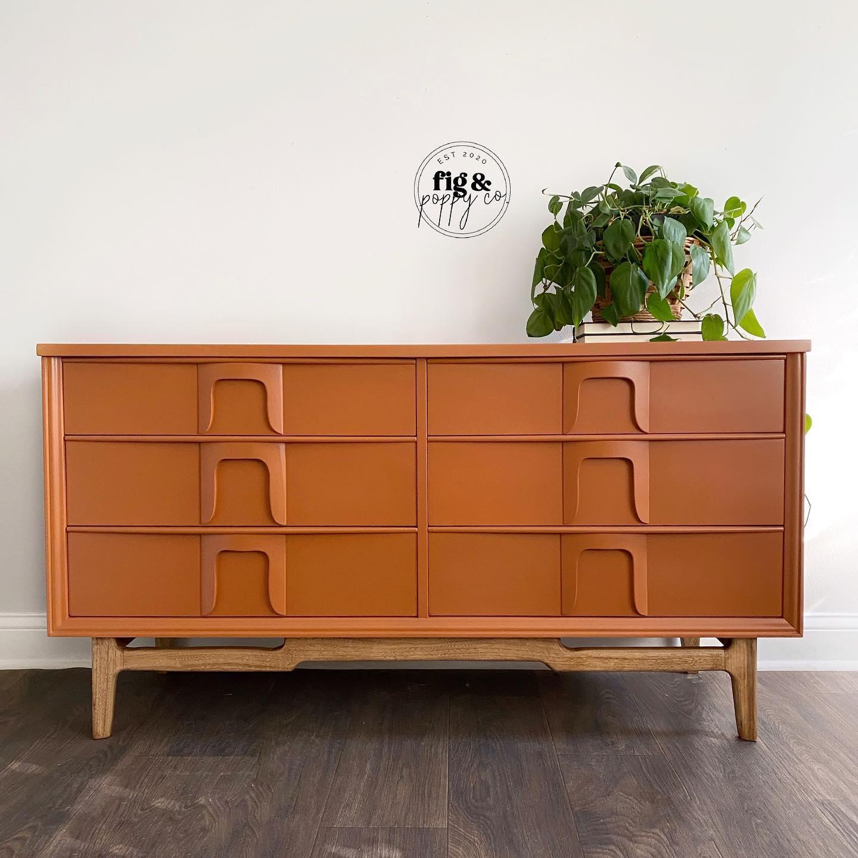 Mid-Century Modern Dresser in With A Twist