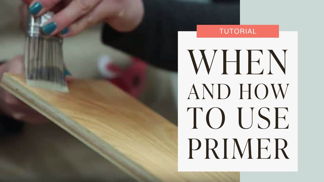 When and how to use primer tutorial graphic