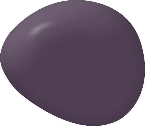 Opulence plum purple paint color swatch by Country Chic Paint