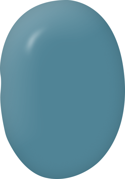 Tide Pool teal blue paint color swatch by Country Chic Paint